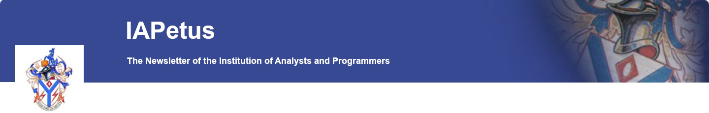 The Institution of Analysts and Programmers – IAPetus